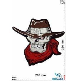 Cowboy Skull Cowboy USA - Totenkopf Cowboy USA - 28 cm - BIG