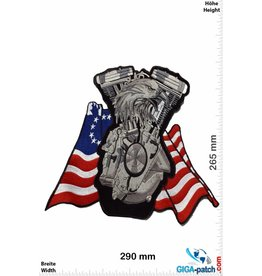 Bikerpatch Eagle - V Power - USA - 29 cm