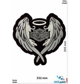 Harley Davidson Harley Davidson Motor -Angel Wings- 24 cm -BIG