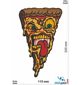 Pizza Pizza Face - 25 cm - BIG