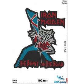 Iron Maiden White Zombie  - 20 cm - BIG