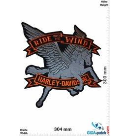 Harley Davidson Harley Davidson Motor - Ride with the Wind - 30 cm -BIG