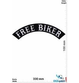 Bikerpatch Free Biker - curve - 33 cm