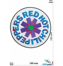 Red Hot Chili Peppers Red Hot Chili Peppers - white - 19 cm - BIG