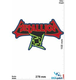 Metallica Metallica - Sign - 28 cm - BIG