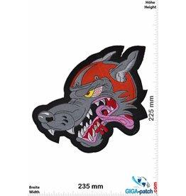 Biker Wolf Racer Wolf-  24 cm - BIG