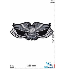 Adler Live Free- Ride Free - Adler - Eagle-  28 cm - BIG