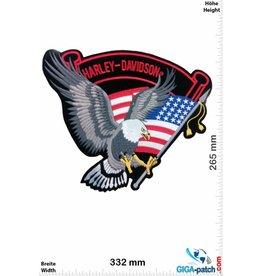 Harley Davidson Harley Davidson - Adler USA  - 33 cm -BIG