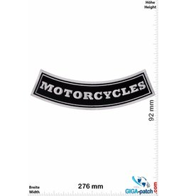 Motorcycles Motorcycles - curve  - 27 cm