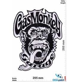 Gas Monkey Garage Gas Monkey Garage - black white- 27 cm