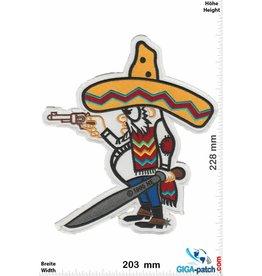 Bandidos Bandidos - Bandit - Mexikaner -  23 cm - BIG