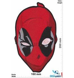 Deadpool  Marvel - Deadpool  - Kopf - 26 cm - BIG