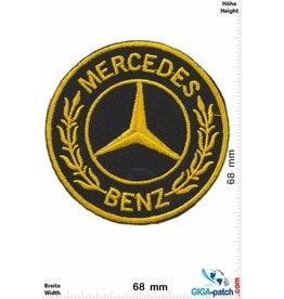Mercedes Benz Mercedes  - gold - round
