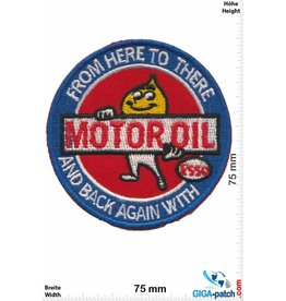 Esso ESSO -  Motoroil - from here tro there and back again with - Esso