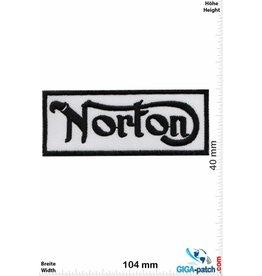 Norton Norton - black white - British Classic Motorcycles