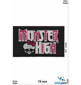 Mantel Monster High - black - Mantel