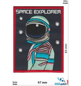 Nasa Space Explorer - Space - red