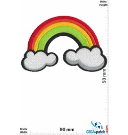 Rainbow   Regenbogen - Rainbow - Clouds