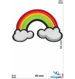 Rainbow   Regenbogen - Rainbow - Clouds