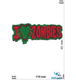 Zombie I love Zombie - red