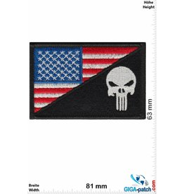 Punisher Punisher - Flag - USA - color