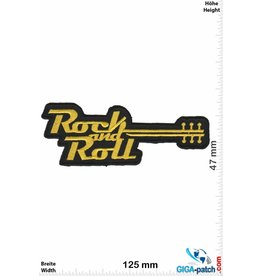 Rock n Roll Rock n Roll -  gold Guitar