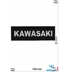Kawasaki Kawasaki - silber schwarz