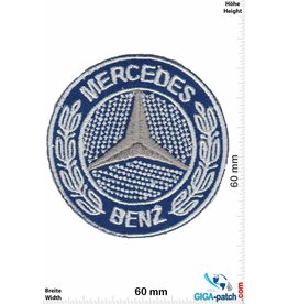 Mercedes Benz Mercedes Benz  -blue silver - small