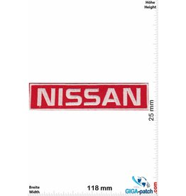 Nissan Nissan - red silver