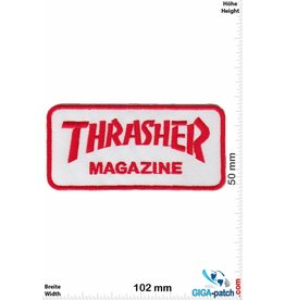 Thrasher Thrasher Magazine - red - small