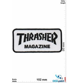 Thrasher Thrasher Magazine - black white - small
