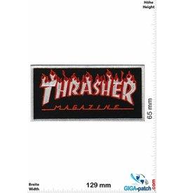 Thrasher Thrasher Magazine -  silver Flame - Skater - HQ