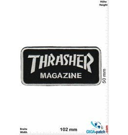 Thrasher Thrasher Magazine - silver black - small