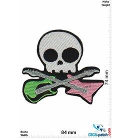 Guitar Skull - Guitar