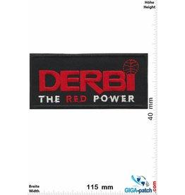 DERBI  DERBI - The red Power