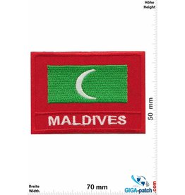 Maldives Flagge - Malediven - Maldives