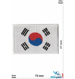 Süd Korea, Republik Korea Flag - South Korea - small -  Republic of Korea
