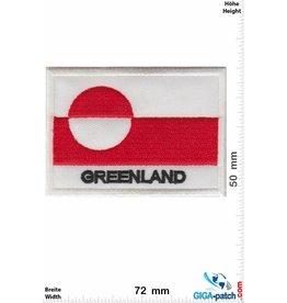 Grönland Greenland - Flagge