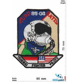 Pilot EURO 86-03 NATO Training Fighter Pilots