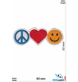 Frieden Peace - Love - Smile