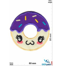 Donut Donut - Face - Purple