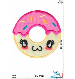 Donut Donut - Face - Pink