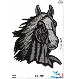 Pferd Horsehead - Horse - grey - BIG
