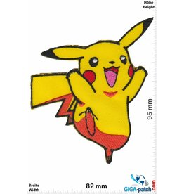 Pikachu  Pikachu - Pokémon - happy