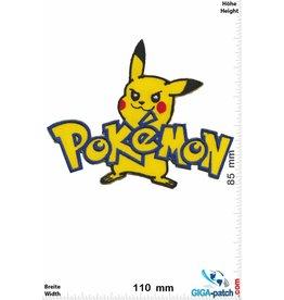 Pikachu  Pikachu - Pokémon - font