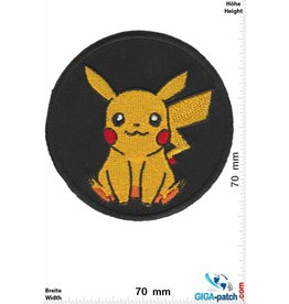 Pikachu  Pikachu - Pokémon - round