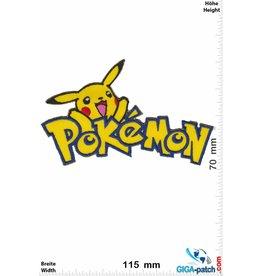 Pikachu  Pikachu - Pokémon - Schrift II