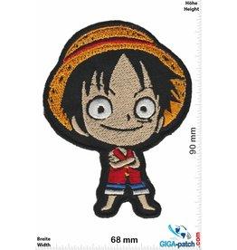 Manga Monkey D. Ruffy - Head - Strohhut Ruffy Manga - One Piece