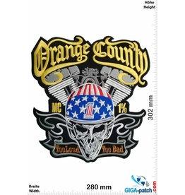 Orange Country No Club - No Rules - Just Ride -  33 cm - BIG
