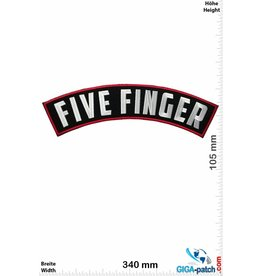 Five Finger Five Finger - curve  - 34 cm BIG